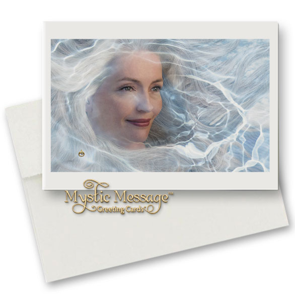 Mystic Visions Greeting Card by Sonya Shannon
