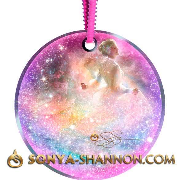 Infinite Bliss Christmas Angel Ornament