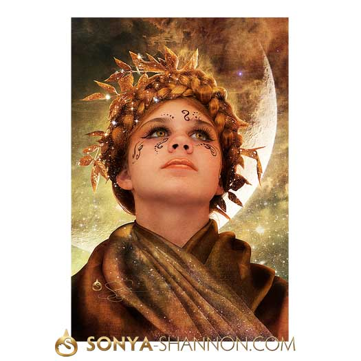 The Divine Rite Of Artemis Print
