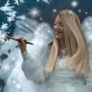 Frost Faerie by Sonya Shannon