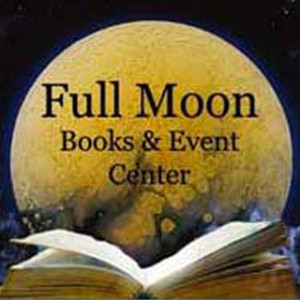 Full Moon Books and Event Center Logo