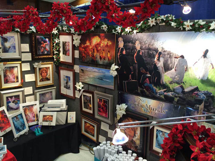 Sonya Shannon Holiday Booth