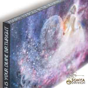 Sonya Shannon Infinite Bliss Canvas Wrap