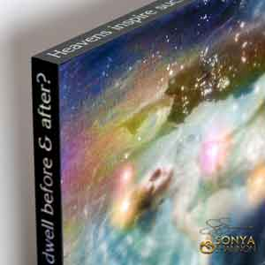 Sonya Shannon One Way to Pleiades Canvas Wrap