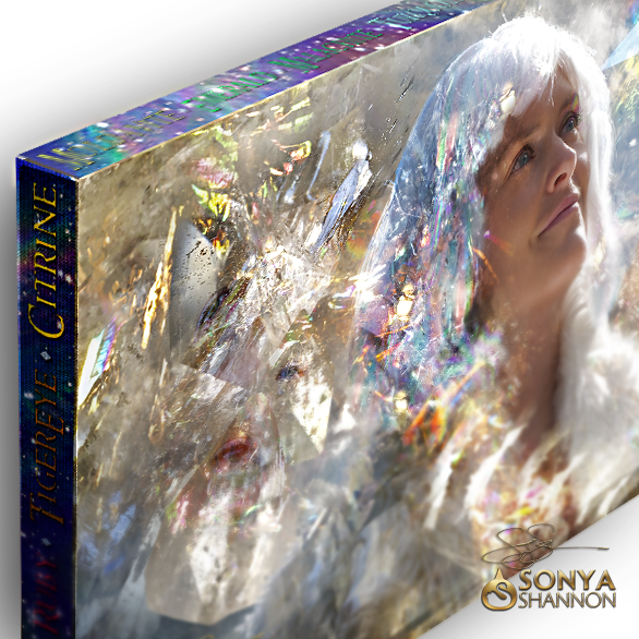 """Crystal Dreams"" Canvas Mantra by Sonya Shannon"